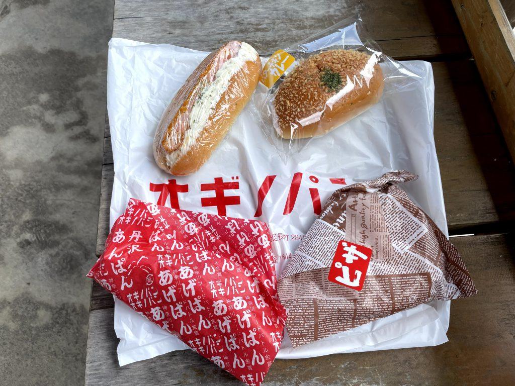 オギノパンでピザパン、カレーパン、エビカツサンド、そして本命の揚げパン